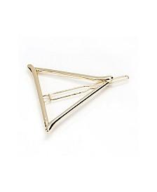 Soho Style Metal Triangle Barrette