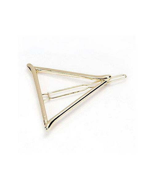 Soho Style Metal Triangle Barrette