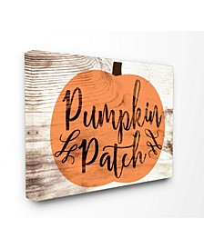 Pumpkin Patch Halloween Typography Art Collection