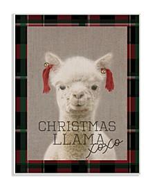 Christmas Llama Xoxo Wall Art Collection