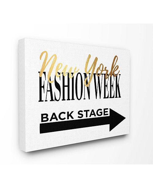 "Stupell Industries New York Fashion Week Backstage Canvas Wall Art, 30"" x 40"""