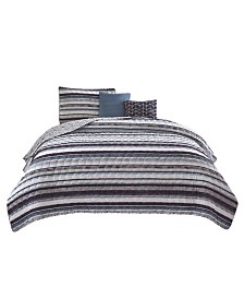 R2Zen Celine 5-Piece Quilt Set - King