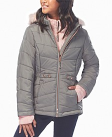 Big Girls Cloud Lite Bib Puffer Jacket