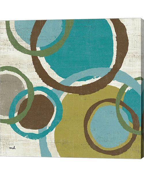 "Metaverse Vintage Bubbles I by Moira Hershey Canvas Art, 24"" x 24"""