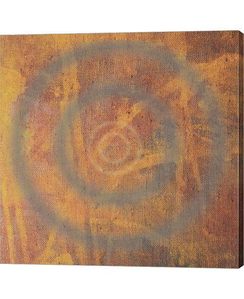 "Metaverse Circle I by Erin Clark Canvas Art, 36"" x 36"""