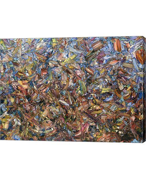 "Metaverse Fragmented Fall by James W. Johnson Canvas Art, 32"" x 24"""