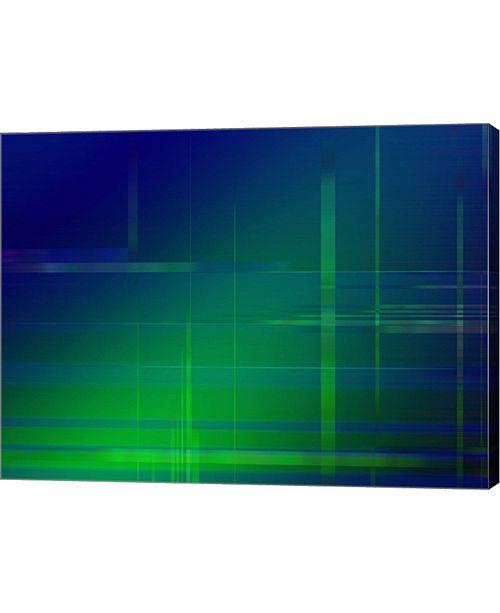 "Metaverse Green Blue by DesignPics Canvas Art, 32"" x 24"""