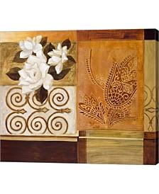 "Metaverse Gardenia 2 by Pablo Esteban Canvas Art, 27.25"" x 24"""