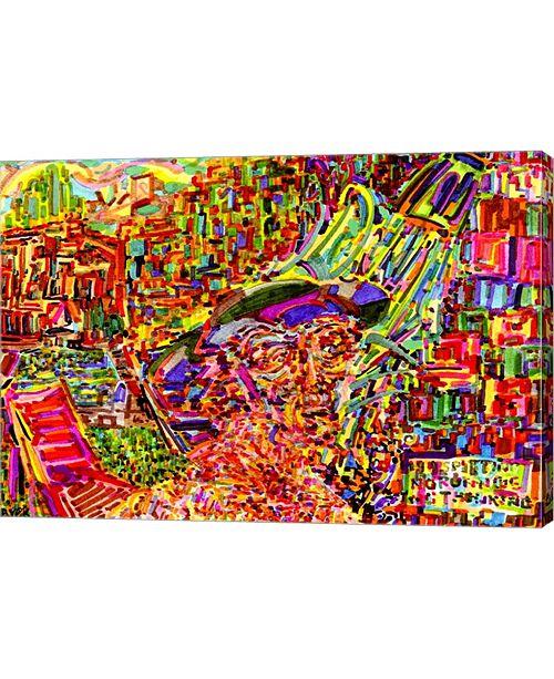 """Metaverse Summer Shower by Josh Byer Canvas Art, 28.75"""" x 20"""""""