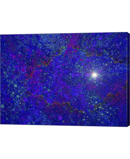 """Metaverse Burning a Hole in Spacetime by MusicDreamerArt Canvas Art, 26.5"""" x 20"""""""