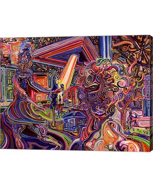"Metaverse Mothership by Josh Byer Canvas Art, 25.5"" x 20"""