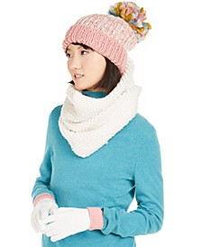 3-Pc. Funshine Gloves, Hat & Scarf Set