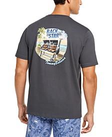 Men's Rack Star Logo Graphic T-Shirt