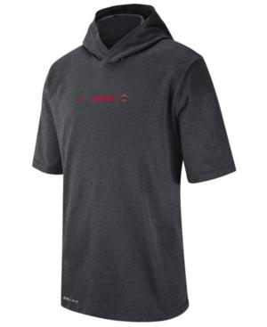 Nike Men's Ohio State Buckeyes Dri-fit Hooded T-Shirt