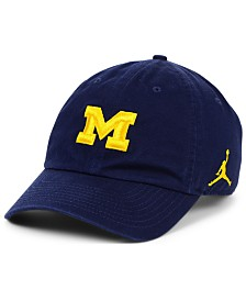 Jordan Michigan Wolverines Core H86 Easy Adjustable Strapback Cap