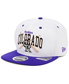 New Era Colorado Rockies Retro Bats 9FIFTY Cap