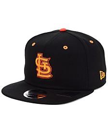 New Era St. Louis Cardinals Orange Pop 9FIFTY Cap