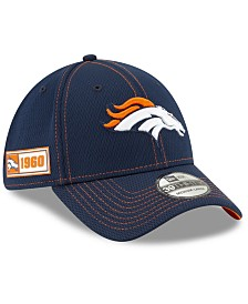 New Era Denver Broncos On-Field Sideline Road 39THIRTY Cap