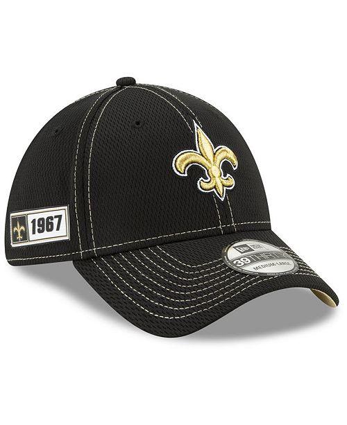 New Era New Orleans Saints On-Field Sideline Road 39THIRTY Cap