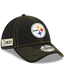 New Era Pittsburgh Steelers On-Field Sideline Road 39THIRTY Cap