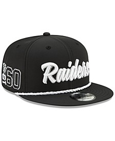 Oakland Raiders On-Field Sideline Home 9FIFTY Cap