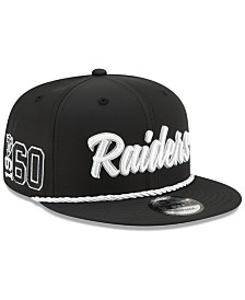 New Era Oakland Raiders On-Field Sideline Home 9FIFTY Cap