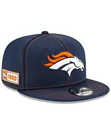 New Era Denver Broncos On-Field Sideline Road 9FIFTY Cap