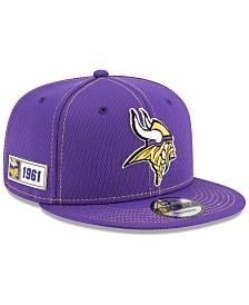 New Era Minnesota Vikings On-Field Sideline Road 9FIFTY Cap
