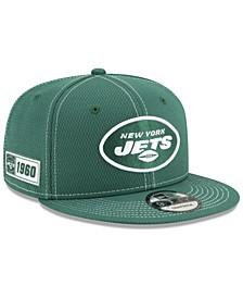 New York Jets On-Field Sideline Road 9FIFTY Cap