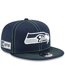 New Era Seattle Seahawks On-Field Sideline Road 9FIFTY Cap
