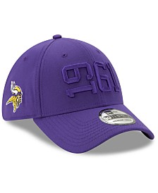 New Era Minnesota Vikings On-Field Alt Collection 39THIRTY Stretch Fitted Cap