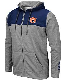 Colosseum Men's Auburn Tigers Nelson Full-Zip Hooded Sweatshirt