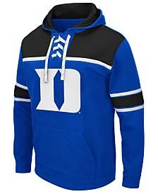 Colosseum Men's Duke Blue Devils Skinner Hockey Hooded Sweatshirt