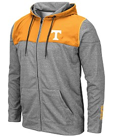 Colosseum Men's Tennessee Volunteers Nelson Full-Zip Hooded Sweatshirt