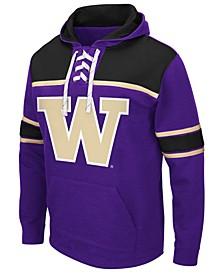 Men's Washington Huskies Skinner Hockey Hooded Sweatshirt