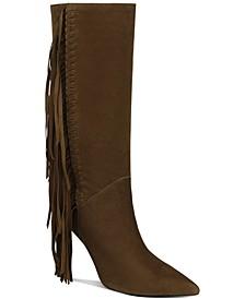 Fayette Fringe-Trim Boot
