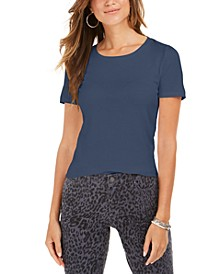 Scoop-Neck T-Shirt, Created For Macy's