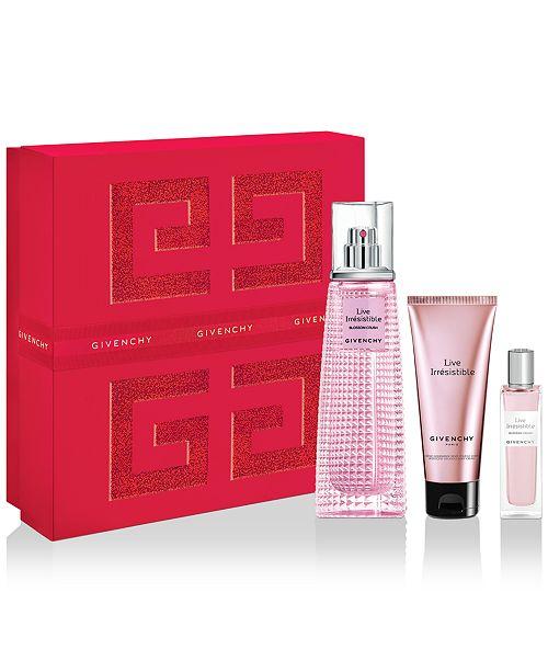 Givenchy 3-Pc. Live Irrésistible Blossom Crush Eau de Toilette Gift Set