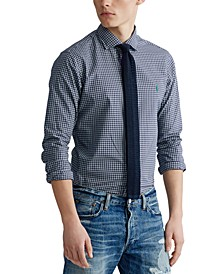 Men's Big & Tall Twill Sport Shirt