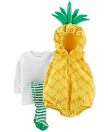 Baby Boys & Girls 3-Pc. Little Pineapple Costume