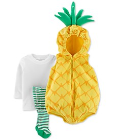 Carter's Baby Boys & Girls 3-Pc. Little Pineapple Costume