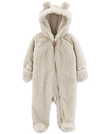 Baby Girls & Boys Sherpa Hooded Bunting