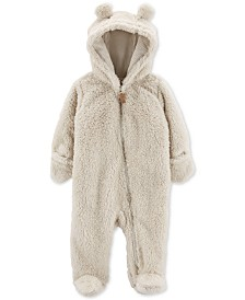 Carter's Baby Girls & Boys Sherpa Hooded Bunting