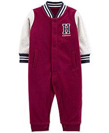 Carter's Baby Boys Varsity Fleece Jumpsuit