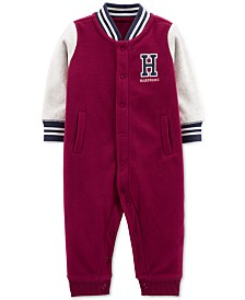 Carter's Baby Boys Varsity Fleece Jumpsuit