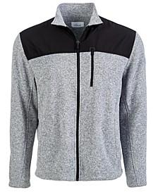 Colorblocked Zip Sweater