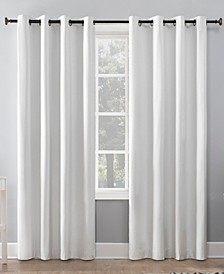 "Duran 50"" x 84"" Thermal Blackout Curtain Panel"