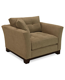 "Michelle 45"" Fabric Living Room Chair, Created for Macy's"