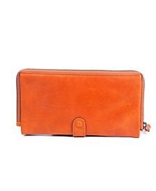 Savanna Leather Clutch