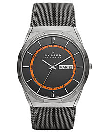Skagen Men's Titanium Mesh Bracelet Watch 40mm SKW6007